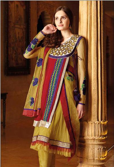 New Anarkali Suit Collection 2013 Figurafashion