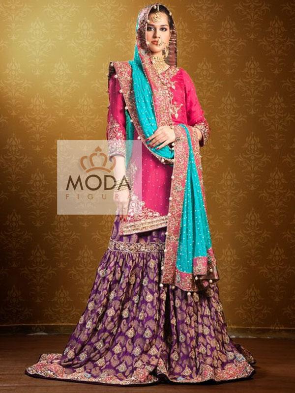 Gharara & Sharara – Bridal Gharara – Wedding Gharara ...